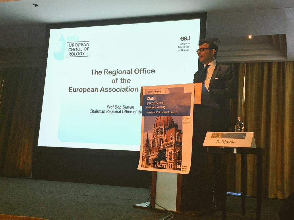 Prof. @BobDjavan welcomes all delegates to the 15th Central European Meeting in Budapest #cem15 http://t.co/1oBybsZX4Z