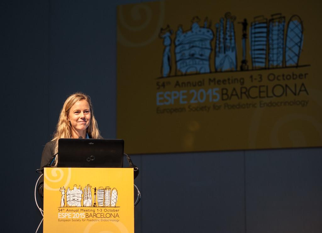 La Dottora Emelie Benyi dell'Istituto Karolinska in Svezia.