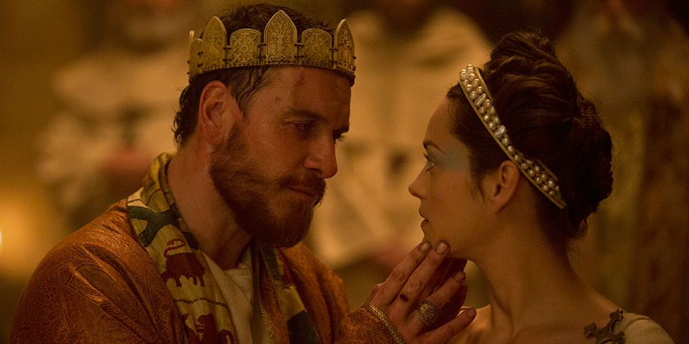 Michael Fassbender & Marion Cotillard star in the brilliant, bloody & brutal Macbeth in cinemas today @macbeth_movie http://t.co/9wc9BJpRGh