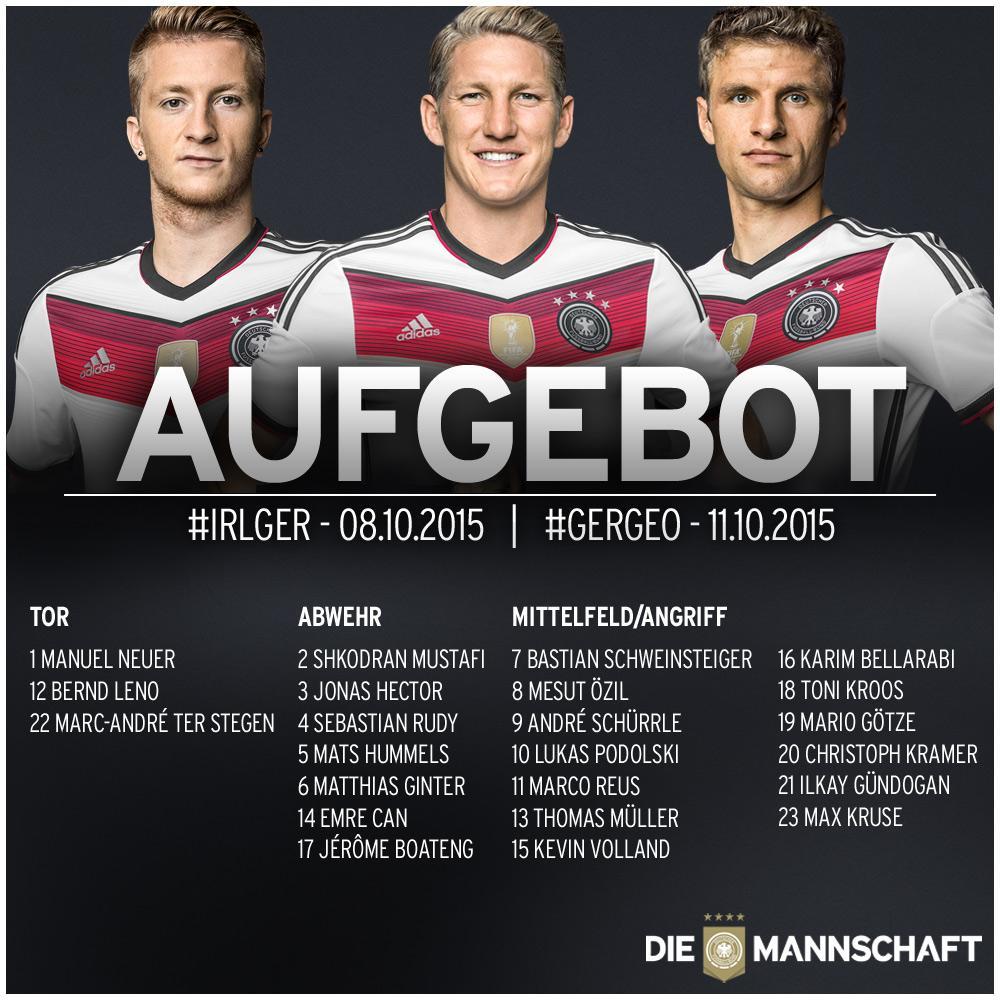 Подольски вызван в сборную Германии