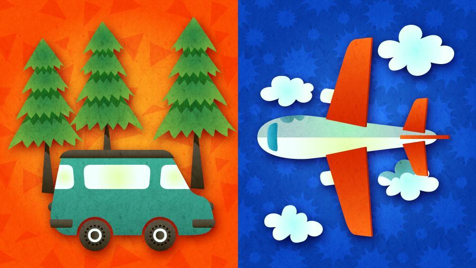 [北米] 第6回 「旅行に行くなら? 車 vs 飛行機」