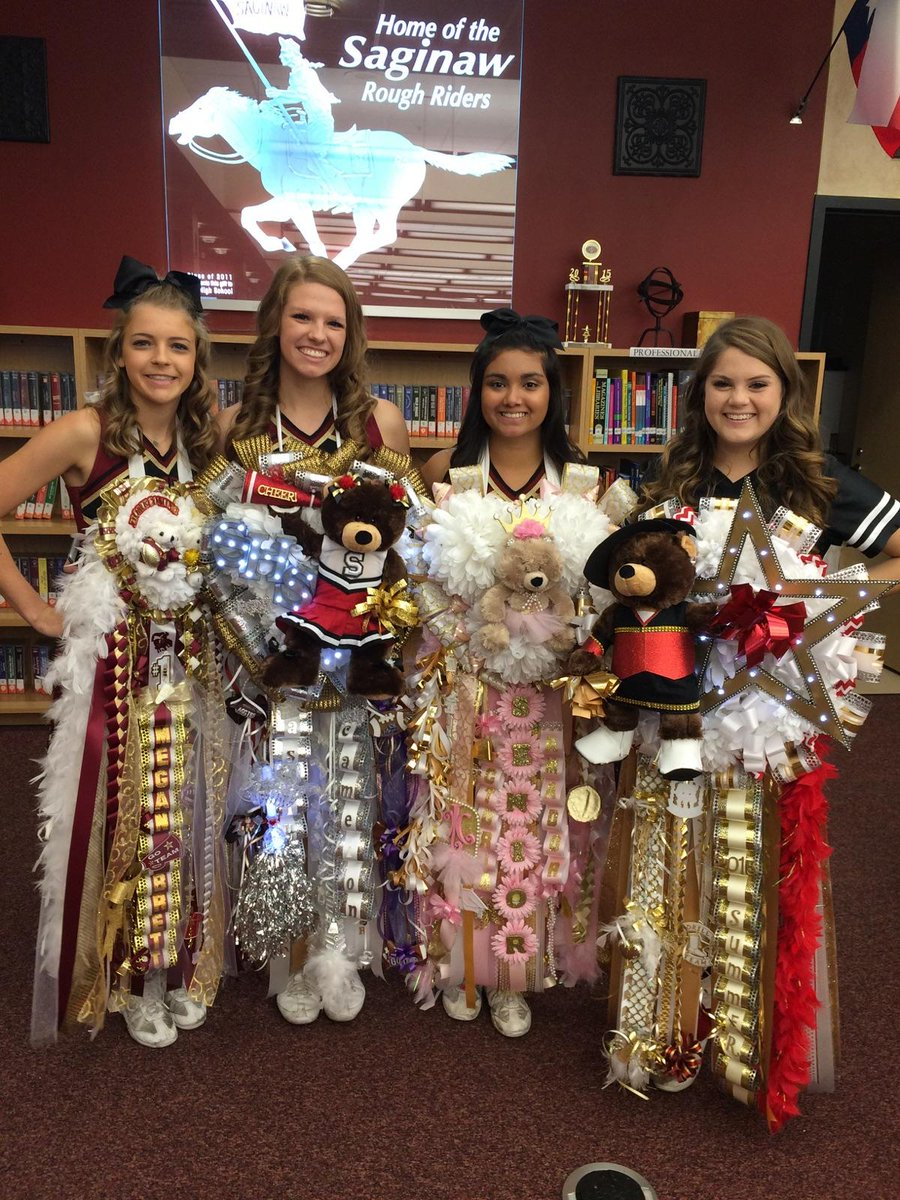 Saginaw High School On Twitter Homecoming Mums 2015 Http T Co