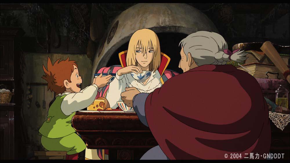 『ハウルの動く城』食卓を囲むハウル