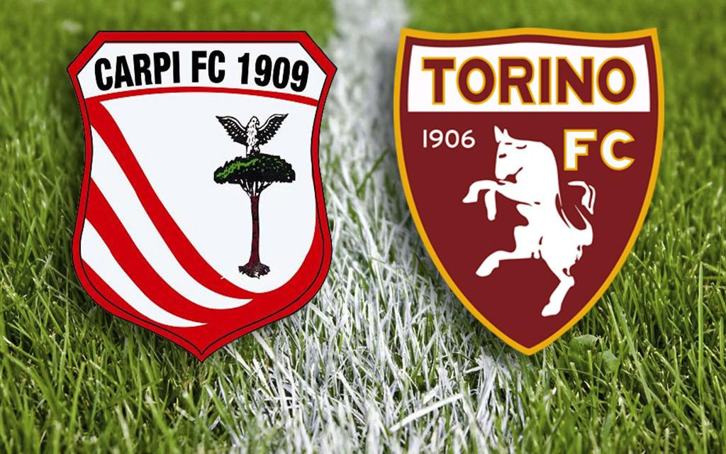 Carpi-Torino tutto su come vederla in Streaming Video