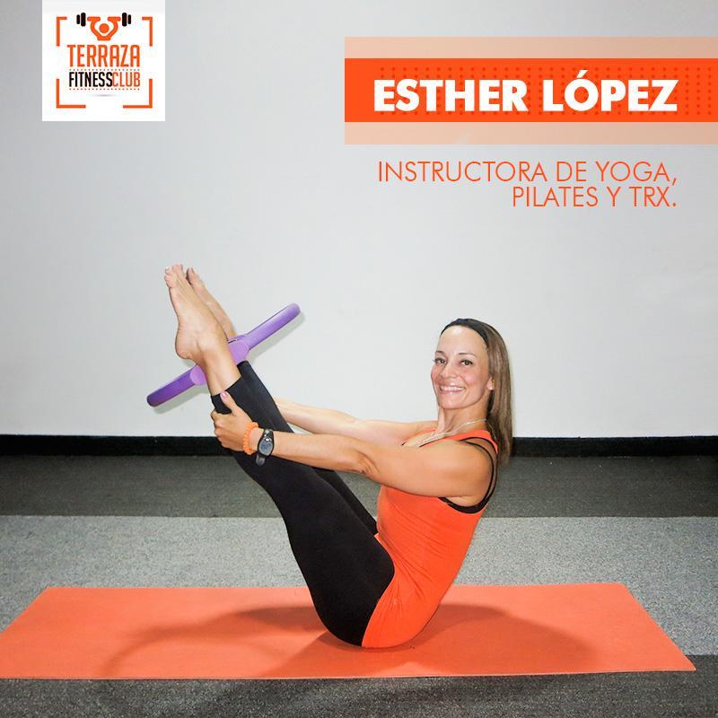Terraza Fitness Club On Twitter Conoce A Estherlopez