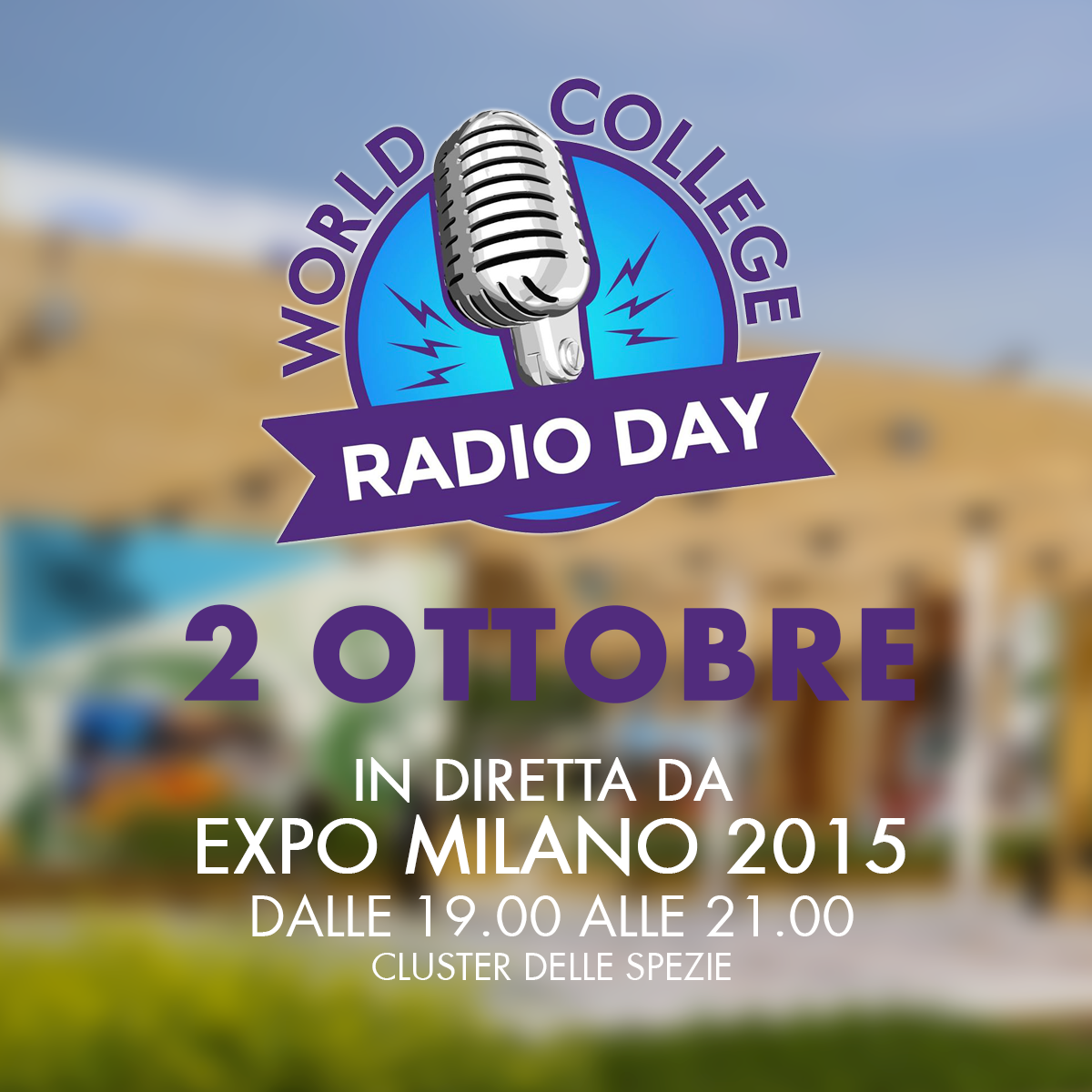 Tonight from 7pm to 9pm #ColombiaPavilion joins the #WCRD15 live from #Expo2015 http://t.co/Lc0N7zgszw http://t.co/QtM8nH9FsN