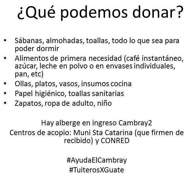 #AyudaElCambray http://t.co/7BflZS2YLN