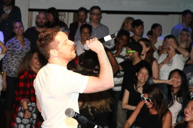 Agencies rock Ad Age's #KaraokeForaCause at #AWXI @TheTradeDeskInc @Global_SMG @Ogilvy http://t.co/41PkyGmnZB