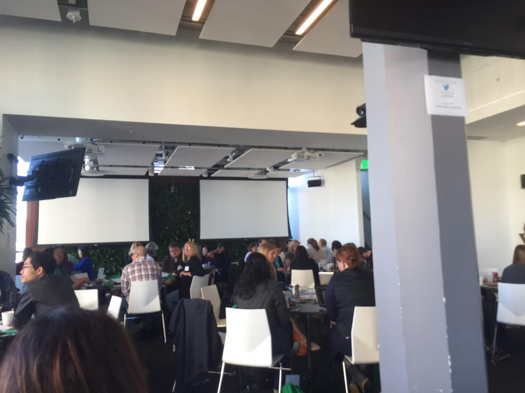 At @twitter HQ for #CSEd15 with @DanBlake51 @SonomaEdTech @chuck_wade @jprogulske http://t.co/BfusJQyxoA