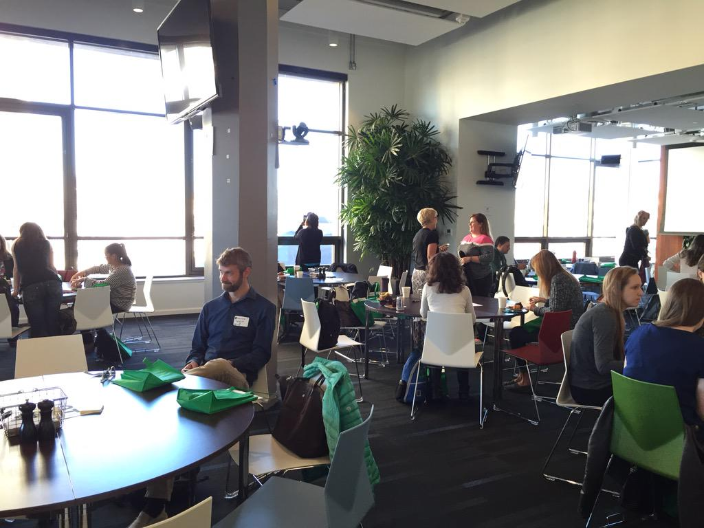 At the first-ever Common Sense Teacher Institute! Great venue at @Twitter in SF. #CSEd15 @CommonSenseEdu http://t.co/6KEOYV3ZWz