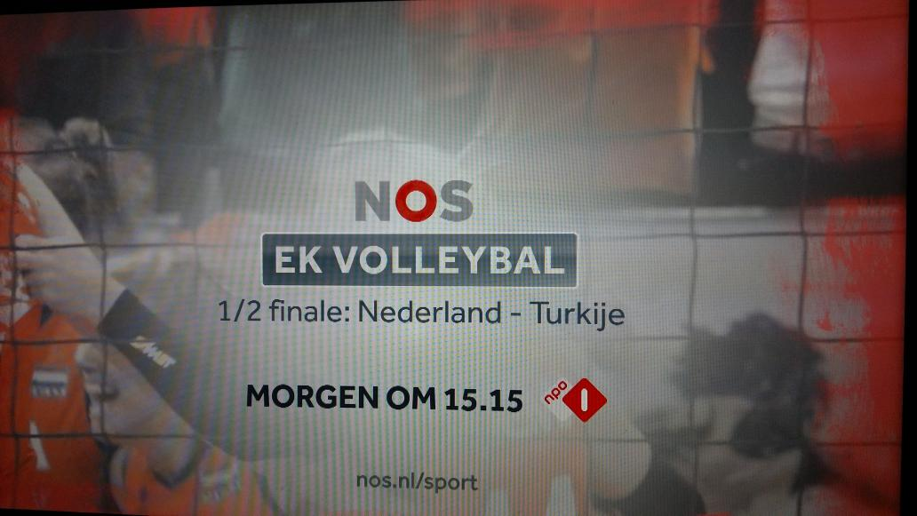 Dat je 't ff weet... #volleybal @NOSsport @Volleybaldames http://t.co/14wtF96xgg