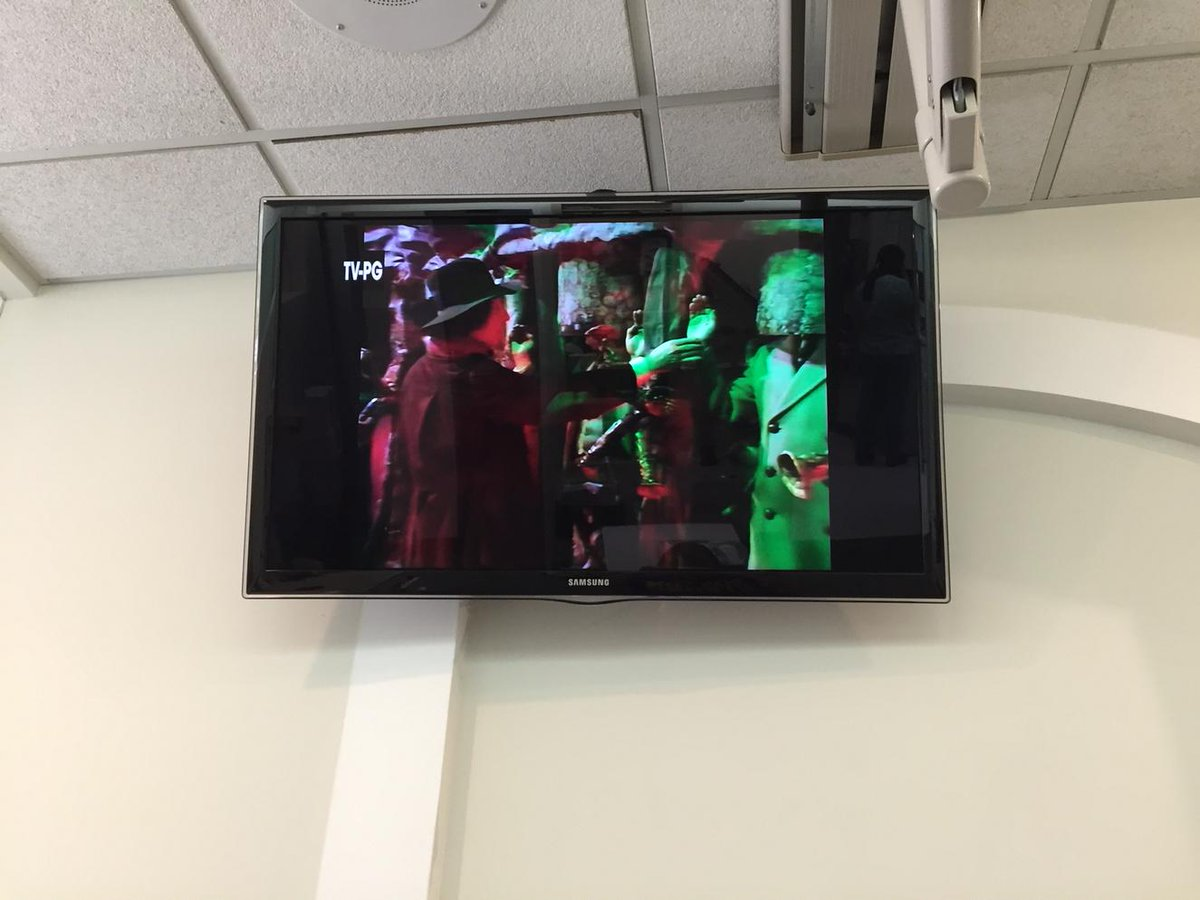 Terror of the Zygons at the dentist. In 2015. You're alright @BBCAmerica http://t.co/aDmfOEWqwb