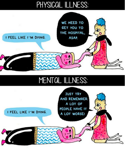 the misunderstanding of mental illness