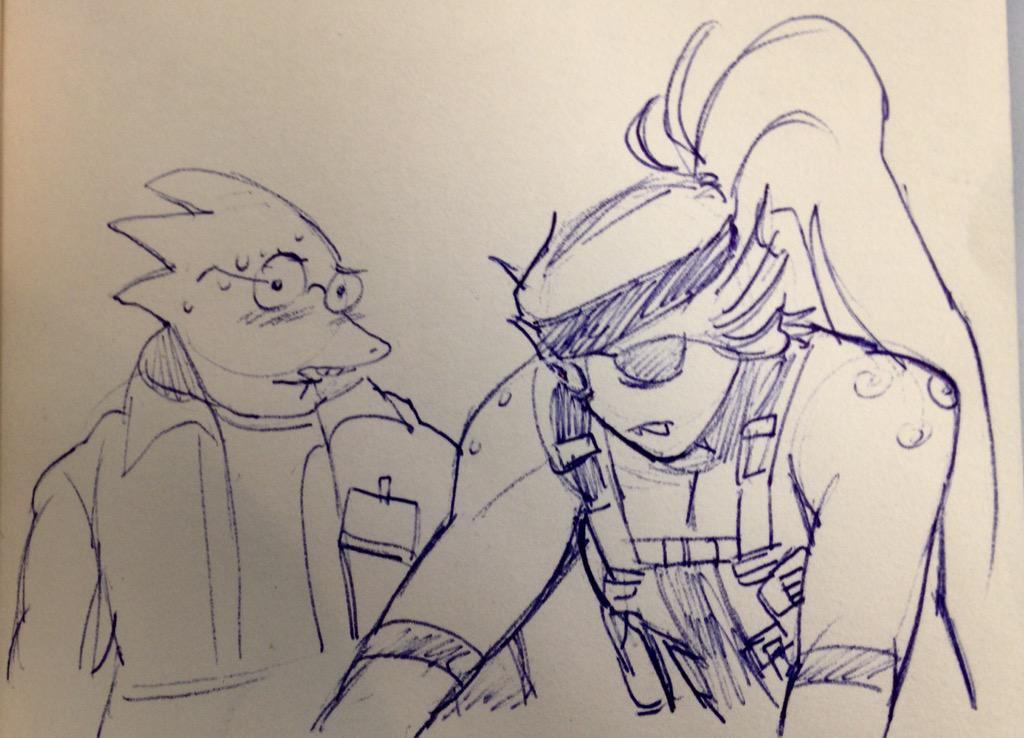 undyne, do you think love can bloom, even in the underground? http://t.co/t7NoYdpcFW