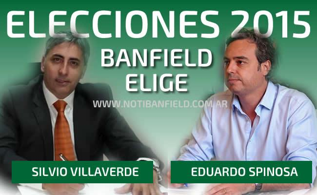 ELECCIONES 2015 BANFIELD SPINOSA VILLAVERDE