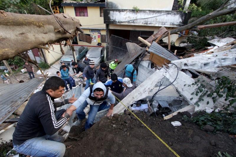 Frana in Guatemala.