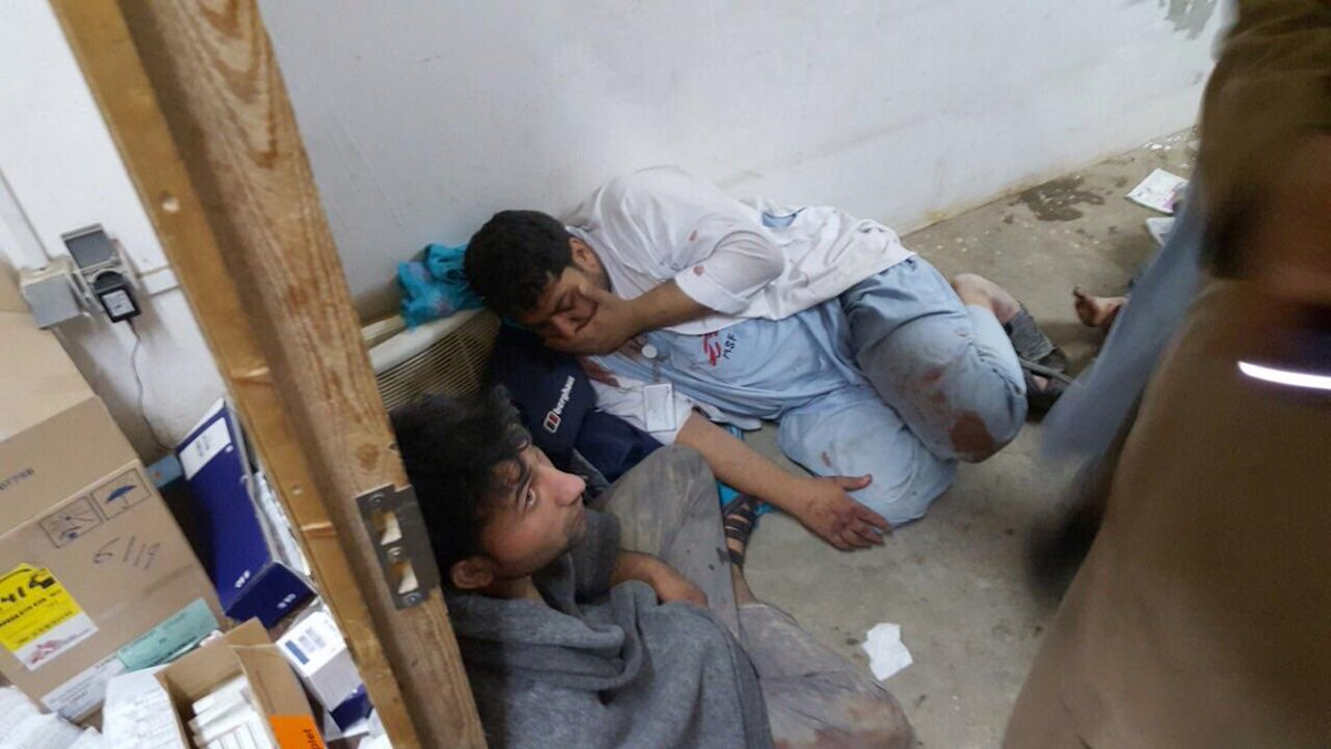US airstrike kills 19 at Doctor Without Borders hospital in Afghanistan…