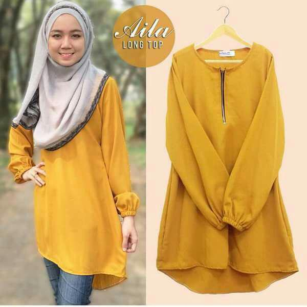 Cotton Blouse For Muslimah 63