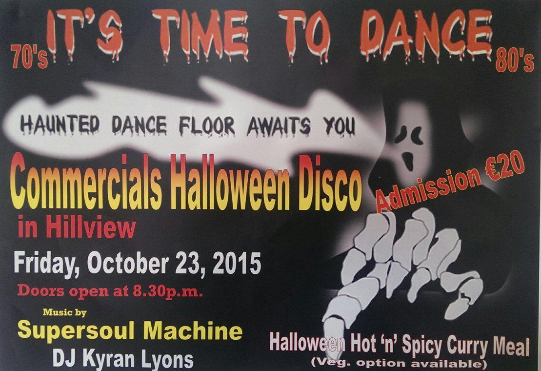 "clonmel commercials on twitter: ""hillview halloween disco 2015! http"