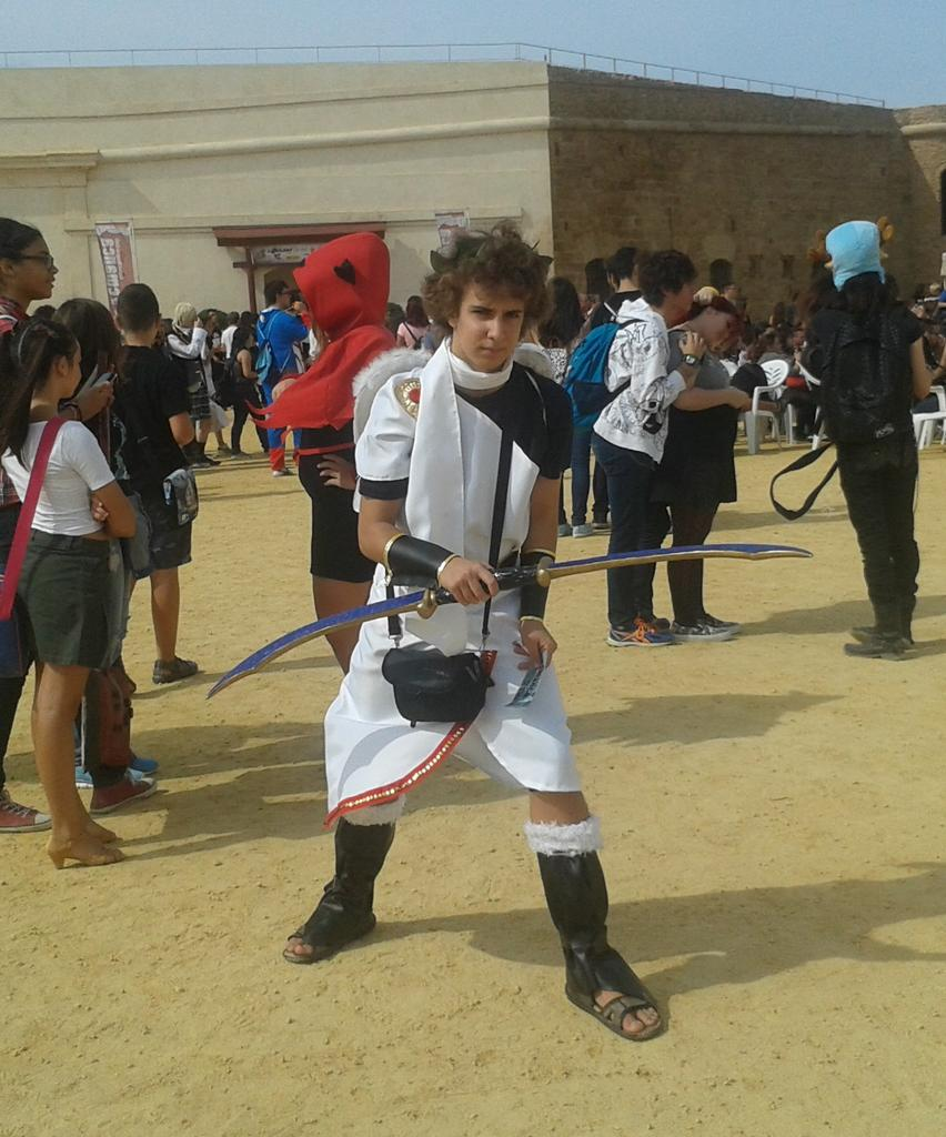 Luciendo cosplay!