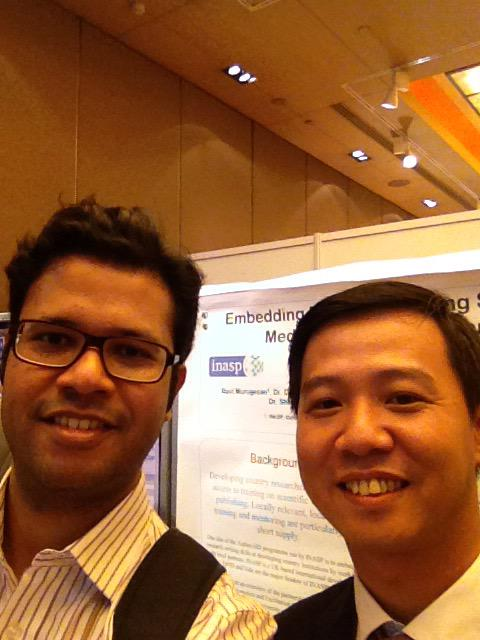 Thrilled to meet Sun Tun from Myanmar who took an @authoraid online course last year! @INASPinfo #WAME http://t.co/STDAFum1g6