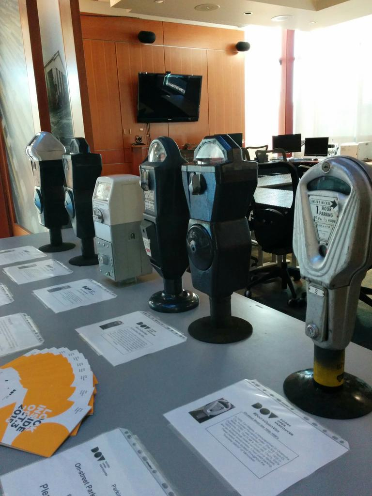Learn about the history of on-street parking meters at the National Works Yard today #DoorsOpenVan http://t.co/W9lhLX2pLP
