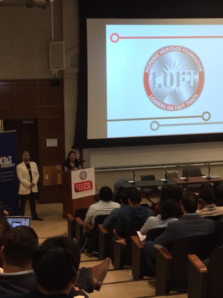 Brenda Camarillo kicking our event off! #LatinoCoders #Live http://t.co/rTNUgnNamk