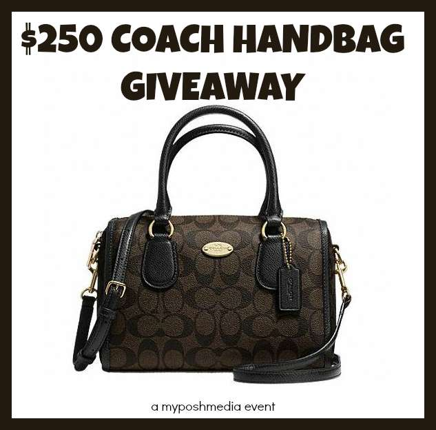 $250 COACH MINI BENNET SATCHEL #Giveaway Event 10/30 http://t.co/pFBM7R05ox  @poshonabudget RT http://t.co/r5J5laxDY0