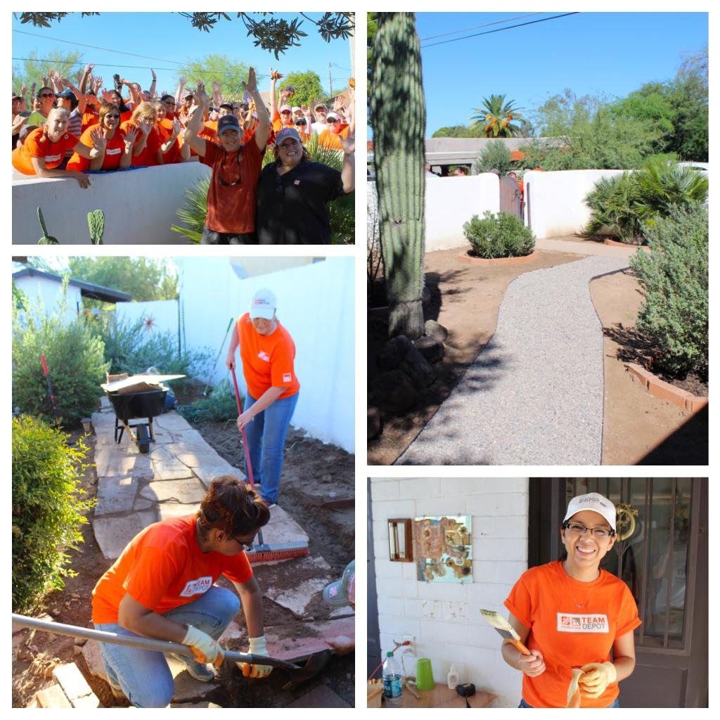 The Home Depot Foundation On Twitter These Orange Blooded