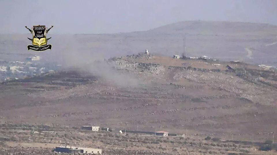 تحرير منطقة تل احمر ضمن معارك وبشر الصابرين