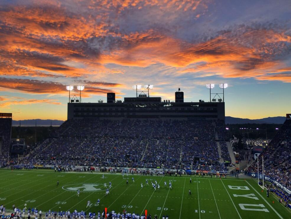 Seriously, is Utah beautiful or what? #BYUvsECU http://t.co/XrckEEI21Y