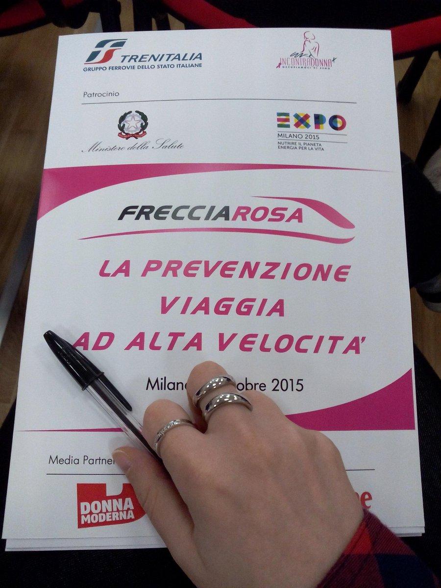 @alleniccoc,ottobre è mese della #prevenzione con @IncontraDonna, @ElenaSofiaOf, @LeFrecce, @fsnews_it, #trenitalia http://t.co/CAUiXO5Kfu