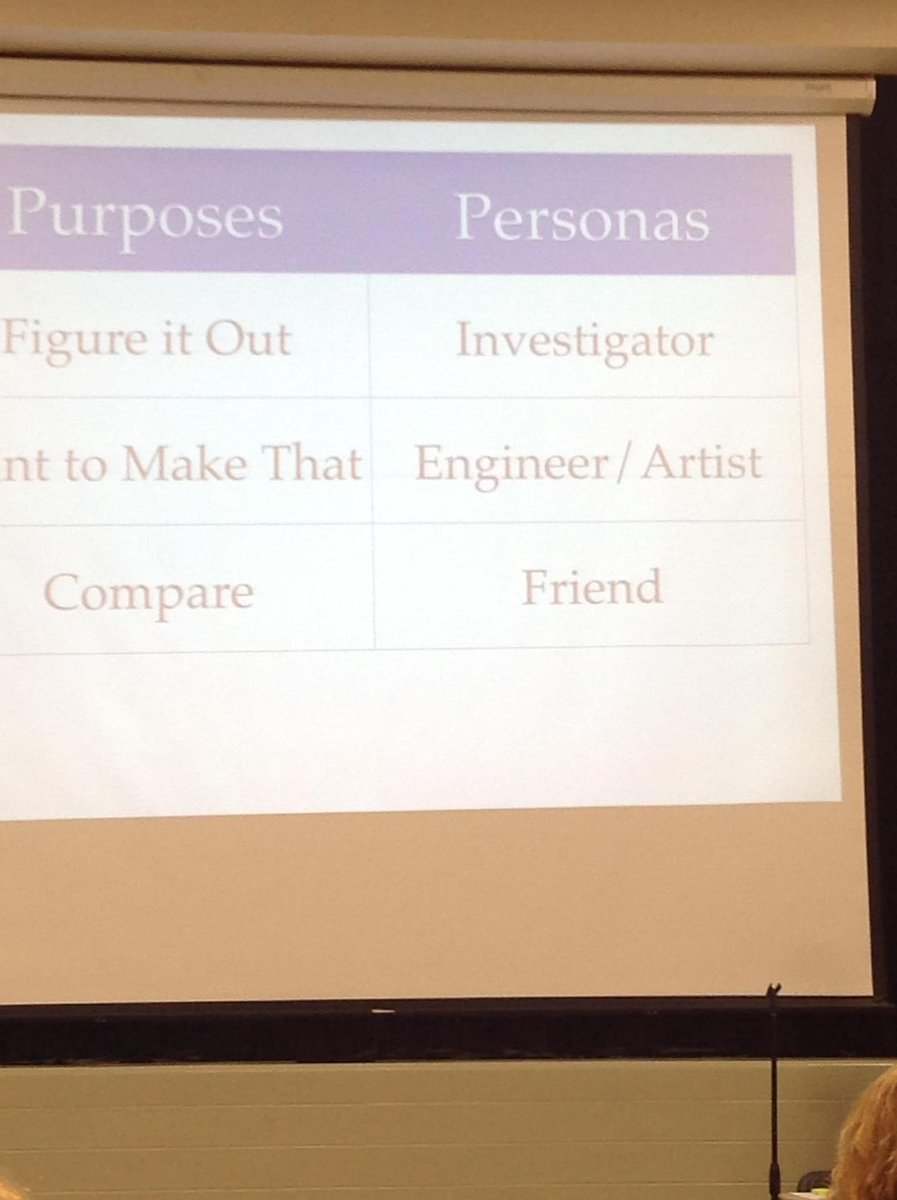 Have your students read as an engineer. @iChrisLehman #litconn15 Great connections to real life http://t.co/hIi50nFw51
