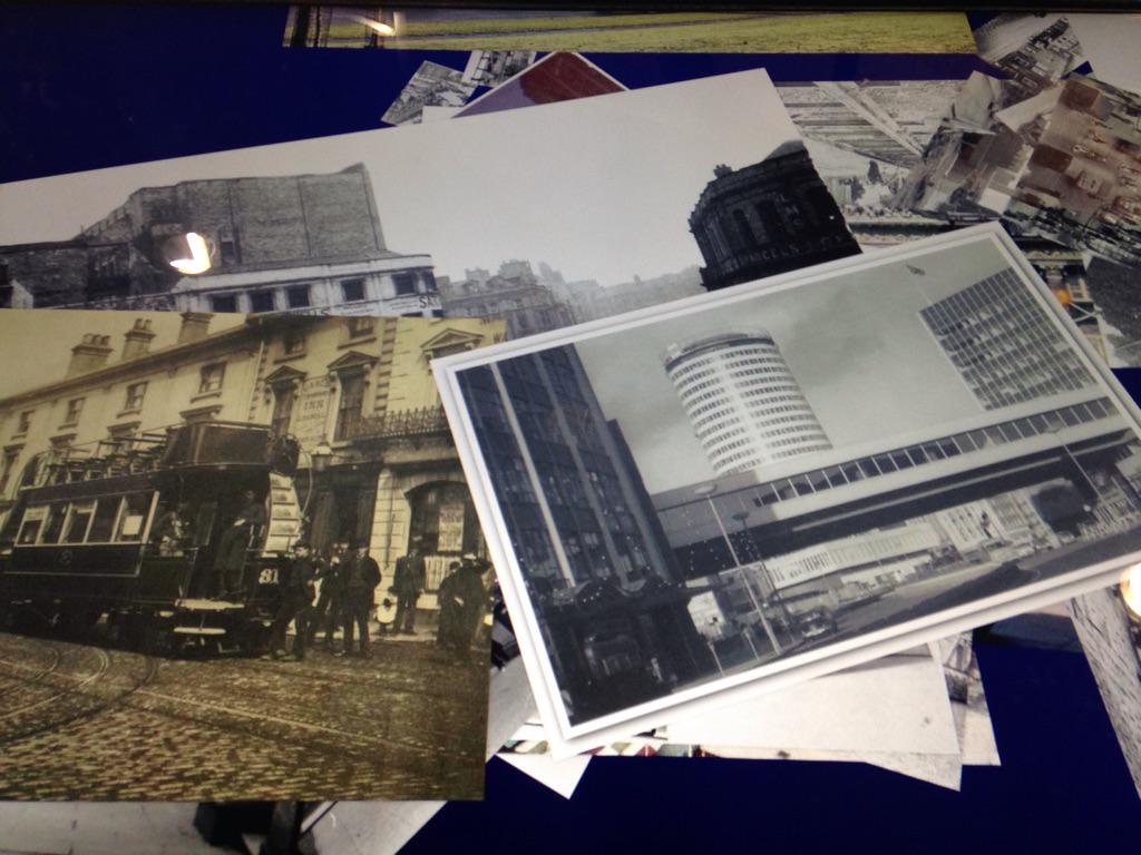 Enjoyed having a look at @brumpic in Brum Central Library today http://t.co/rmUlph0an1