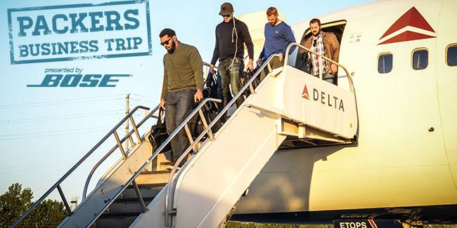 The #Packers arrived in San Jose last night for #GBvsSF. #PackersBusinessTrip photos: http://t.co/vvobnQv3lT http://t.co/9hLzDVNvKT