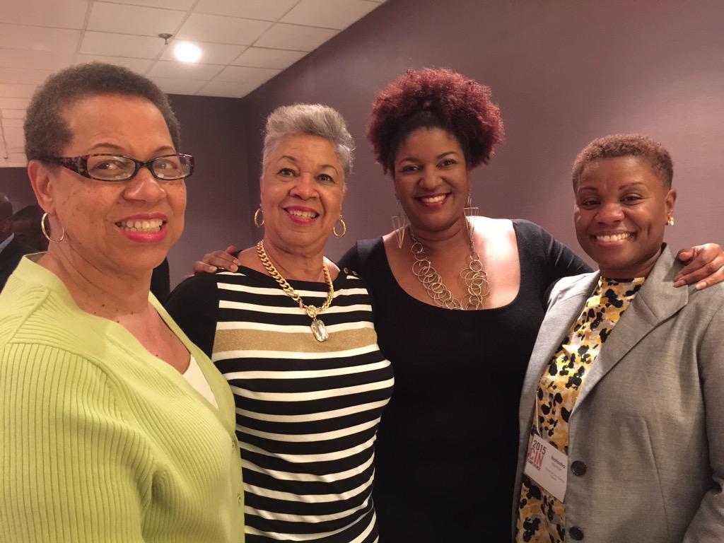 The ladies of @CircleofJoyAtl enjoying #cin2015 http://t.co/tAO7rGqziX