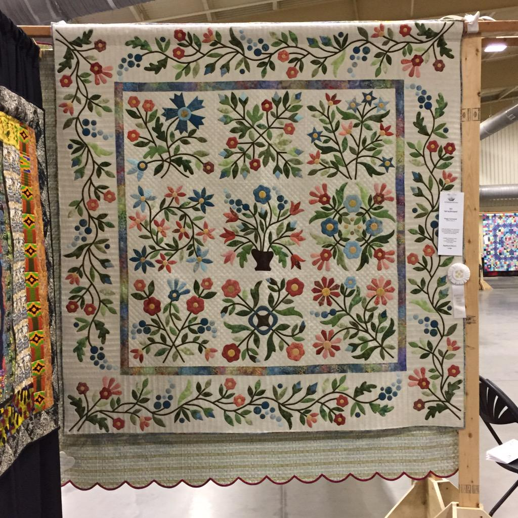 Eye Of The Beholder On Twitter Award Winning Applique Quilts At