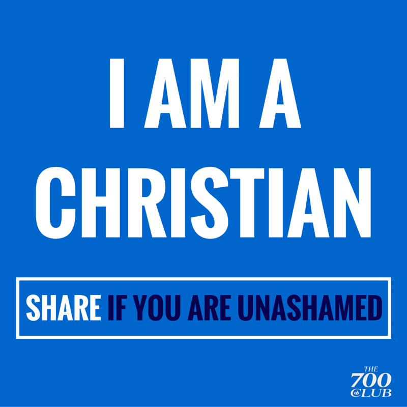 We're standing with America tonight, we are NOT ashamed! #Retweet #IAmAChristian #NotAshamed http://t.co/2LXrvosLs2