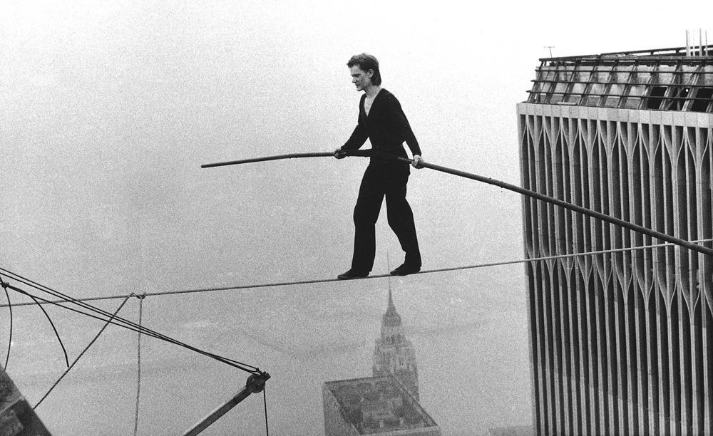 RT @mashable: 9 harrowing photos of the original daredevil stunt that inspired 'The Walk': http://t.co/t4UV4kevZO http://t.co/TWW7kXqZeZ