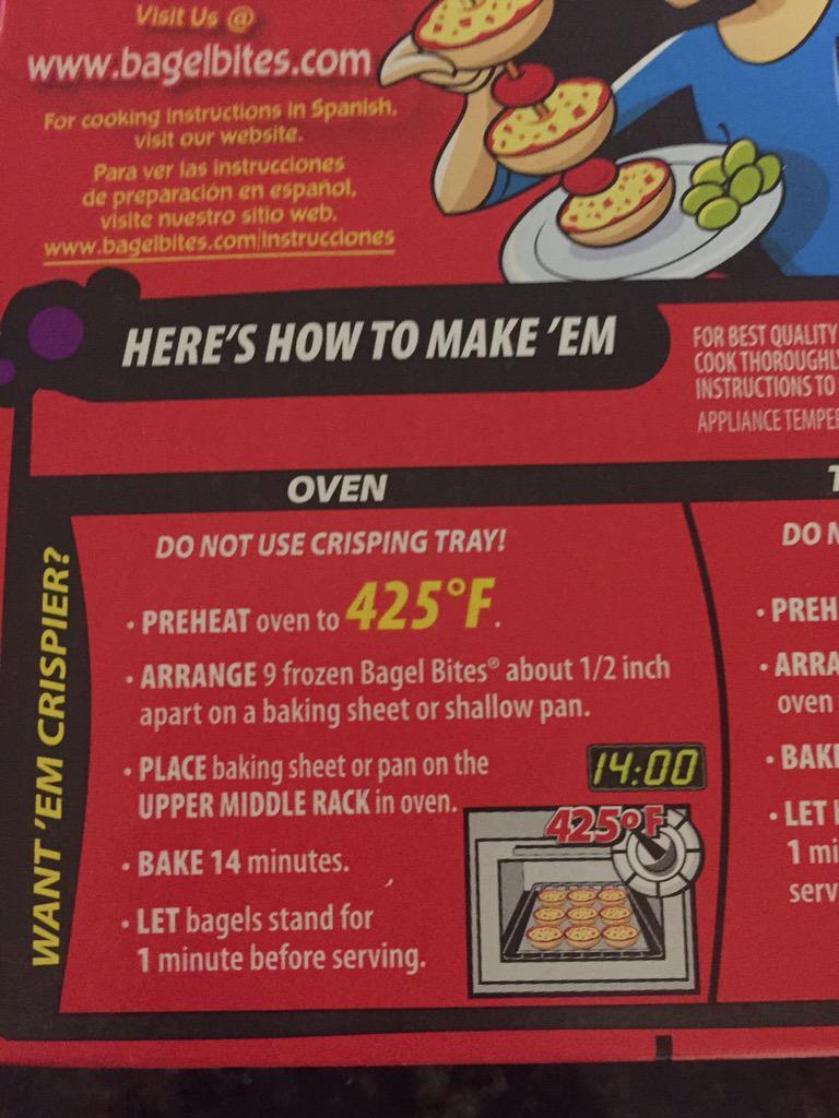 bagel bites microwave instructions
