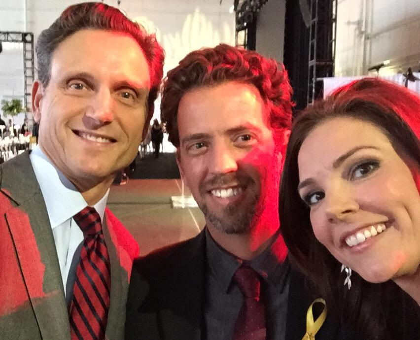 The incomparable #BrianHoyer and .@AmeriCares Amb. @tonygoldwyn at #AAB2015 http://t.co/ff3cqJxQW0