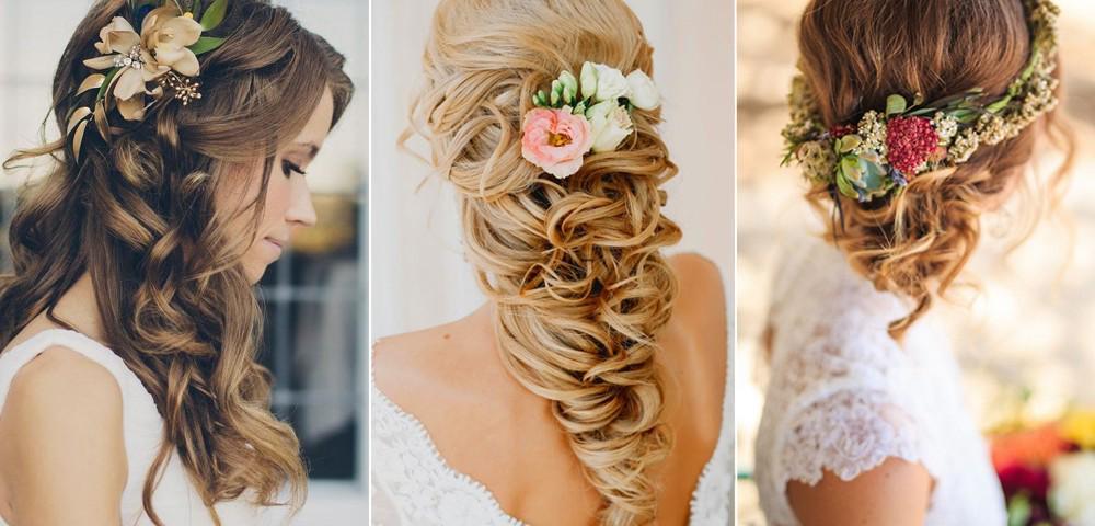 фото свадебных причесок средних волос