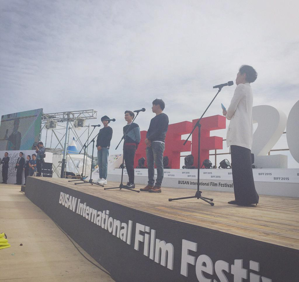 Event Outdoor Greeting for the 20th BIFF is now taking place at Outdoor Stage - BIFF Village with 'One way trip' http://t.co/Gm131GDSOX
