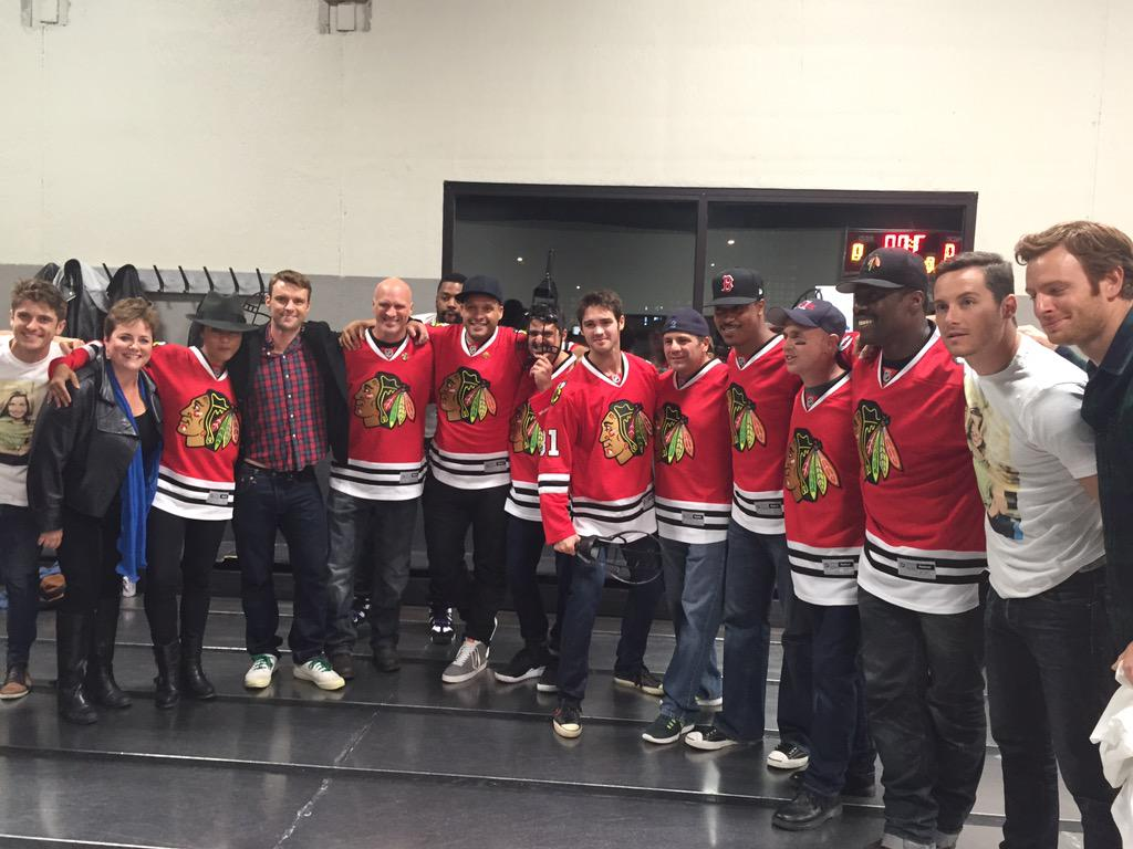 What a fun night with the cast of @NBCChicagoFire & @NBCChicagoPD at the Inaugural WhirlyCruz Cup! @celebtv http://t.co/RYmsyETkaH
