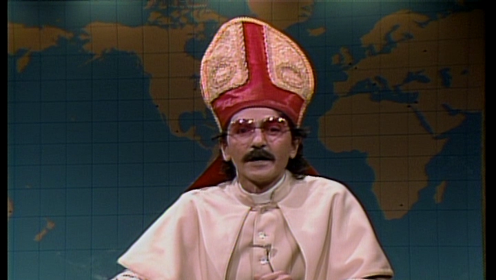 Remember when a religious dude with an Italian accent was funny on #SNL? http://t.co/k3Fz3J5DpN
