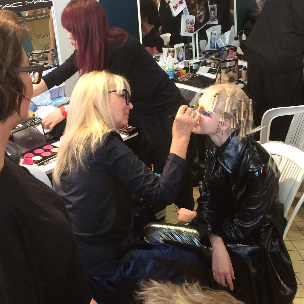 RT @MAC_Dominic_S: #Backstage with @TheValGarland at @FollowWestwood #VWSS16 #SS16 #PFW Show http://t.co/zAtwgmNxuW