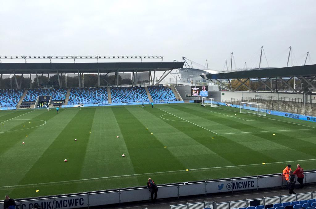 RT @MCFC: Morning Blues! @porter_mcfc here at the Academy Stadium ready for #mcfc EDS v Leicester. Team news to follow! http://t.co/kSl064U…