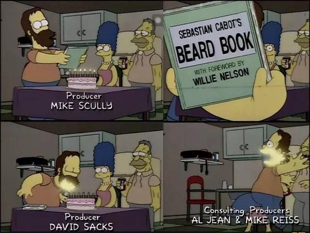 Paint The Front Of Face That Pops Out Larger Oval For Homer S Beard
