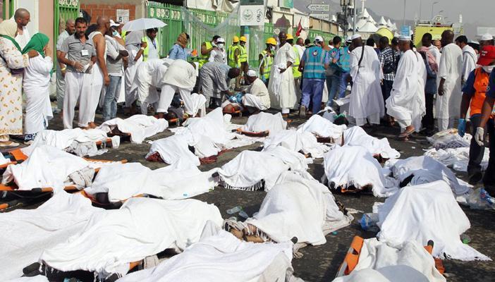 ارتفاع حصيلة حادث تدافع الحجاج في منى إلى أكثر من ألف قتيل