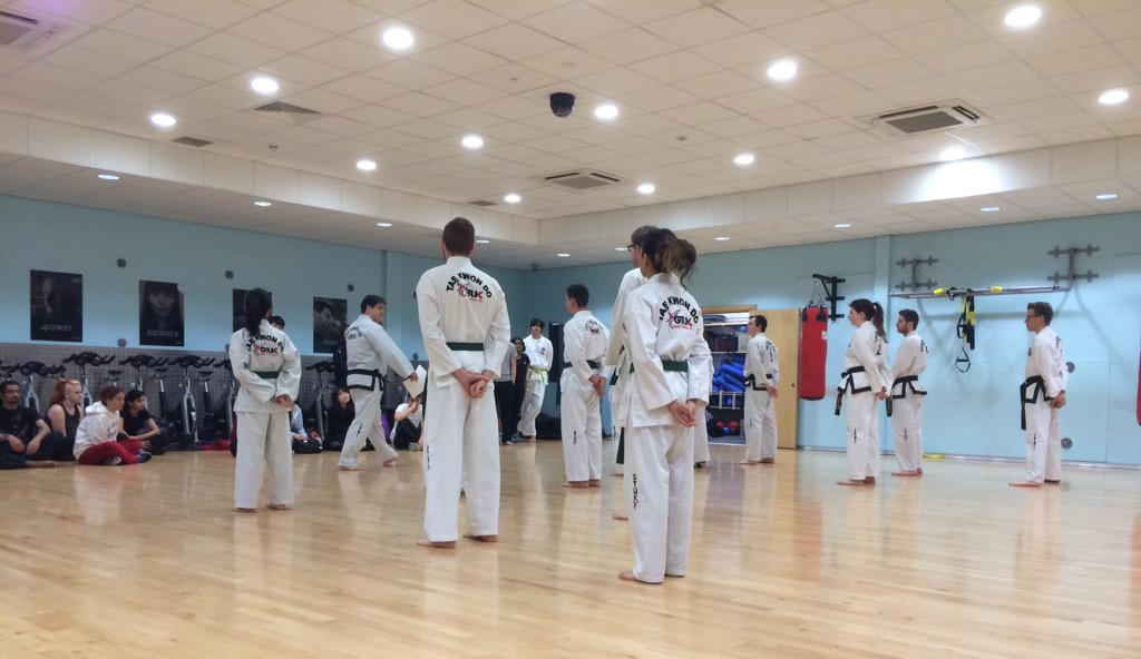 RT @DSUSports: Excellent to see so many faces (especially on a Sunday morning) at the TKD taster session. http://t.co/m6L2owNBlh
